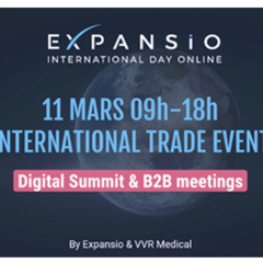 Salon virtuel : HEALTHCARE International Trade Digital Summit & B2B Meetings